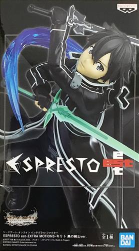 ソードアート・オンライン インテグラル・ファクター ESPRESTO est-EXTRA MOTIONS- キリト 黒の剣士ver.