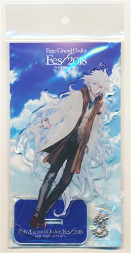 Fate/Grand Order サーヴァント別 描き下ろしイラスト アクリルマスコット マーリン(キャスター)