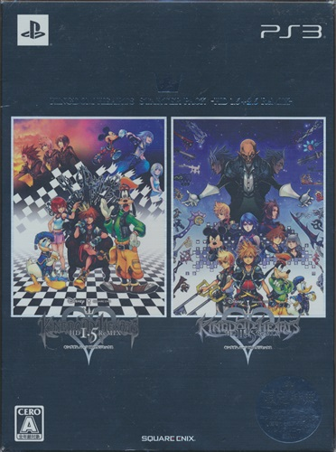 KINGDOM HEARTS STARTER PACK -HD 1.5+2.5 ReMIX- 【PS3】