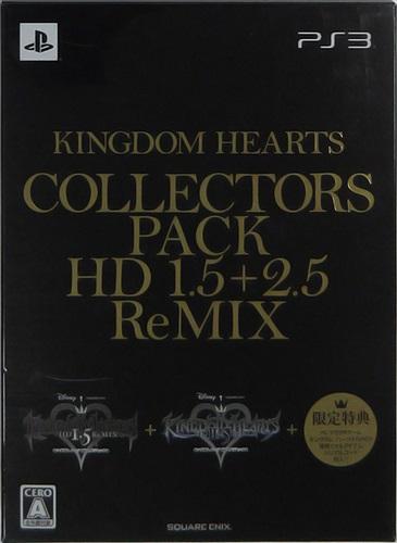 KINGDOM HEARTS COLLECTORS PACK -HD 1.5+2.5 ReMIX- 【e-STORE限定】