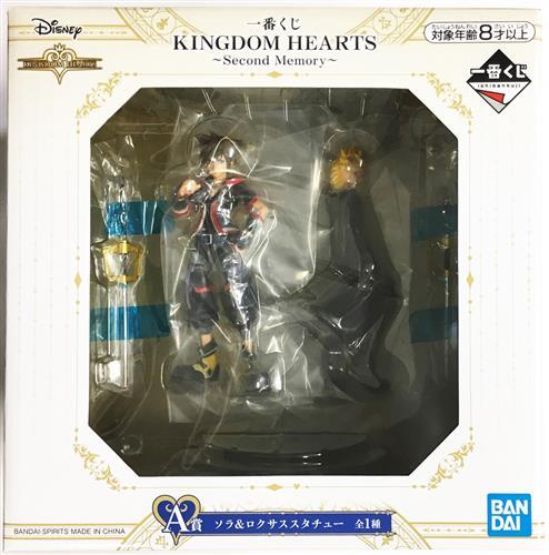 一番くじ KINGDOM HEARTS ~Second Memory~ A賞(ダブルチャンスキャンペーン) ソラ&ロクサス スタチュー