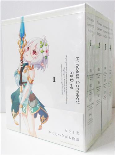 プリンセスコネクト!Re:Dive 全4巻セット 【ブルーレイ】