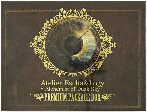 エスカ&ロジーのアトリエ ~黄昏の空の錬金術士~ プレミアムパッケージボックス グッズセットのみ