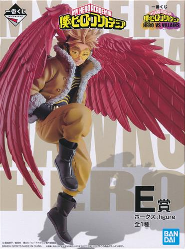 一番くじ 僕のヒーローアカデミア HERO VS VILLAINS E賞 ホークス ;figure