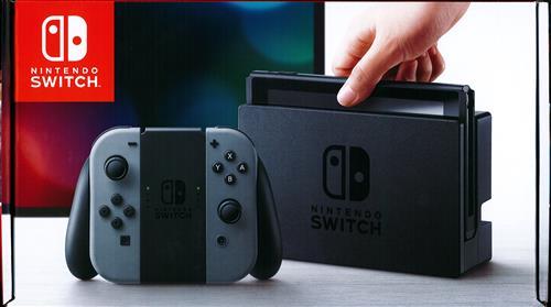 Nintendo Switch Joy-Con (L)/(R) グレー (2017年3月発売)