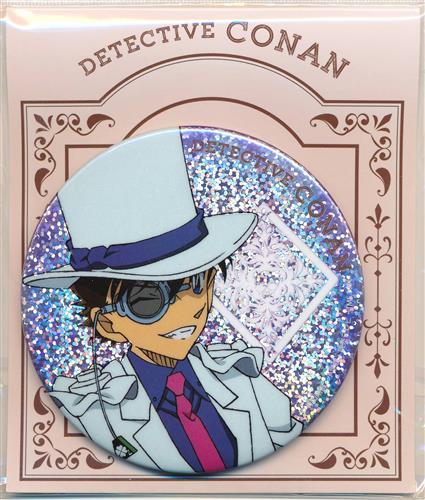 名探偵コナン おおきなきらきら缶バッジ トランプver. 怪盗キッド