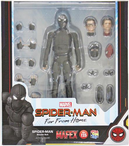 MAFEX No.125 SPIDER-MAN Far from Home SPIDER-MAN Stealth Suit 【フィギュア】[メディコム・トイ]